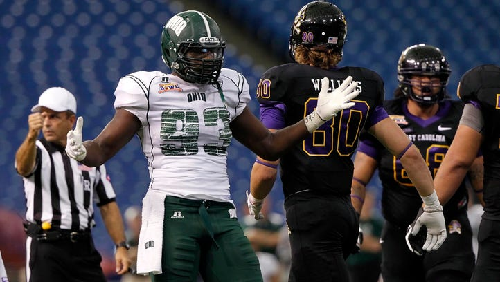 Ohio University pass rusher impresses at Senior Bowl