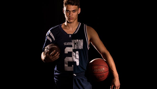 Burlington's Kevin Garrison is the Burlington Free Press Athlete of the Year.