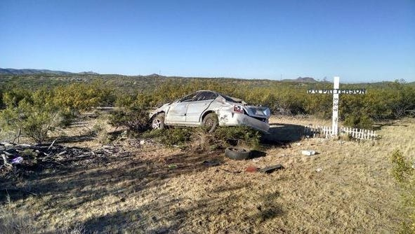 A mother of two died in a single vehicle rollover crash. She was not wearing a seatbelt when she failed to navigate a curve and overcorrected. Her two small children were in the car, but they were unharmed.