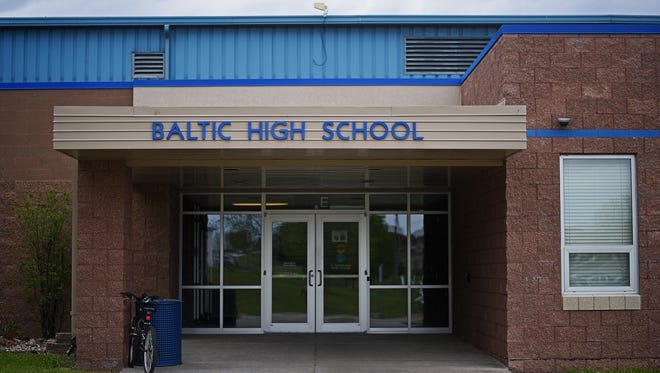 Baltic High School Tuesday, May 9, 2017, in Baltic, S.D.