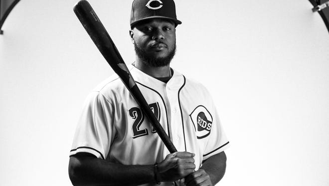 Reds manager Bryan Price says Phillip Ervin could make the Reds as a fifth outfielder.