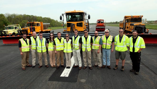 The Morristown Municipal Airport snow team recently won an award in the Large General Aviation category at the 48th annual International Aviation Snow Symposium for  maintaining its airport during the winter of 2013.