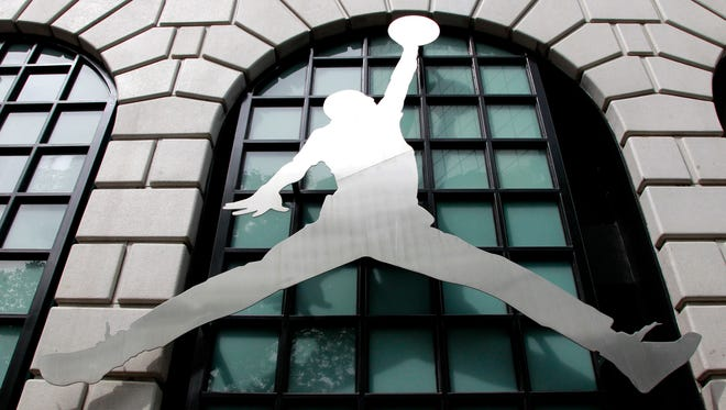 Nike's Air Jordan brand started in 1984 with shoes for Michael Jordan.