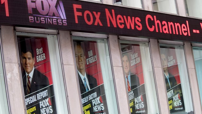 Fox News headquarters in Manhattan on April 19, 2017.