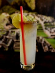 Chilcano is an authentic Peruvian cocktail offered at El Mono restaurant in Shreveport.