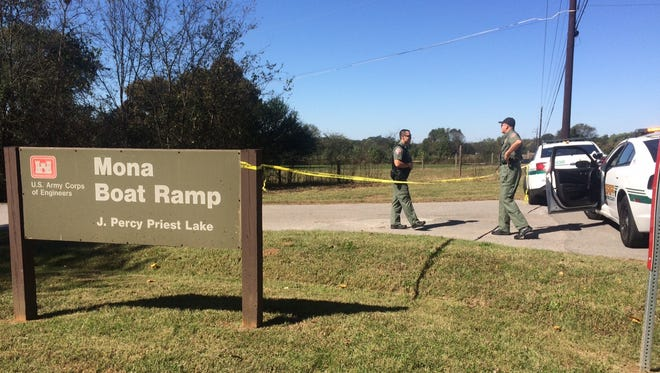 One man was found dead at the Mona Boat Ramp on Friday morning, said Rutherford County Sheriff Robert Arnold.