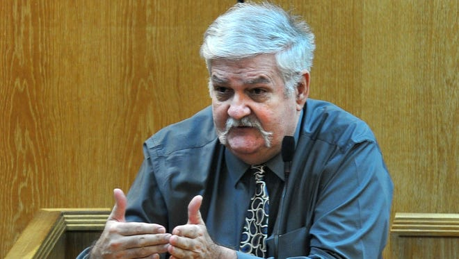 Clarence Homer Swegheimer took the stand to conclude his testimony Tuesday morning.