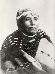 Anderson's great-great grandmother, Mary, daughter of Chief Tumulth.
