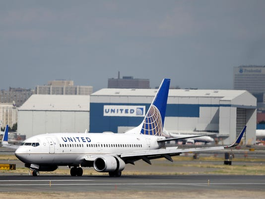 AP UNITED AIRLINES CEO A F USA NJ. United will begin flying a new international  business class ... 3d2cbcabd1bca
