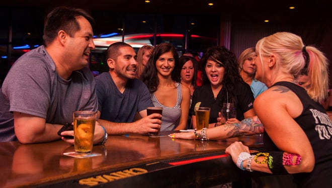 From 11 a.m. to 7 p.m. weekdays, enjoy happy-hour specials that include $2 well drinks, $2 domestic draft beers, $3 glasses of wine at Toby Keith's I Love This Bar & Grill.