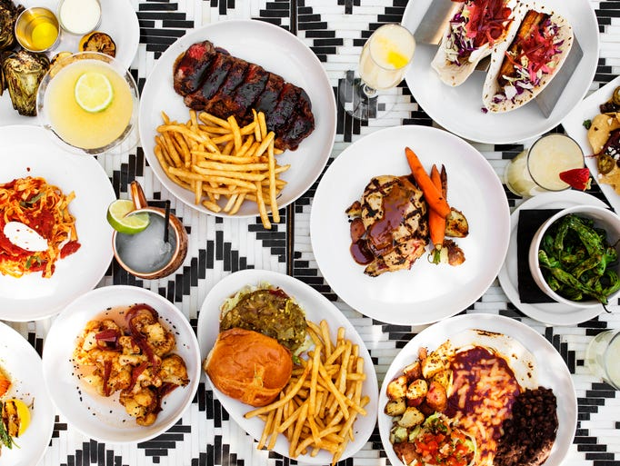 Food you'll find on the menu at Social Hall in Tempe,