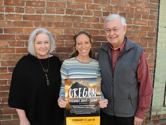 Kathleen Cody, Shelly Payne and Mike Whalen at the