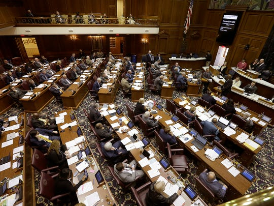 The final day of the legislative session made for busy
