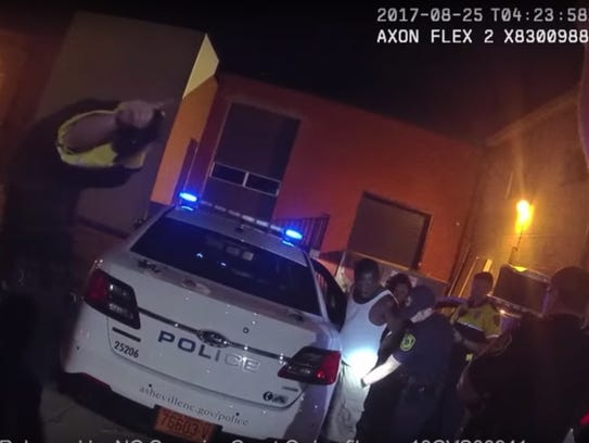 Body-worn camera footage from Sgt. Lisa Taube shows