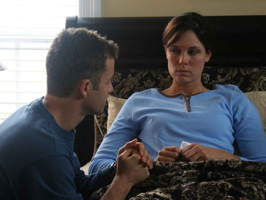 Kirk Cameron, left, and Erin Bethea star in Stephen