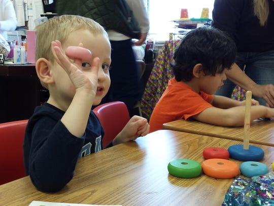 Students play at Sheltering Tree Ranch