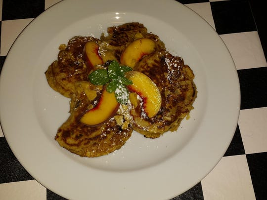 Banana pancakes served at Stella G's in Hackettstown.