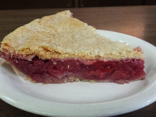 Cherry pie from Crouse's Cafe in Indianola