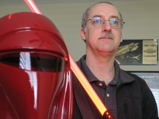 Star Wars enthusiast and collector Derek Mazer has