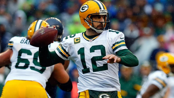 Packers quarterback Aaron Rodgers has thrown 22 touchdowns and five interceptions in 12 games against the Lions.
