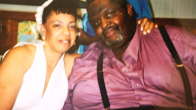 Terry Camper, 53, of Peekskill was shot in the head and found dead in his car in 2012. With him is his wife, Beatrice.