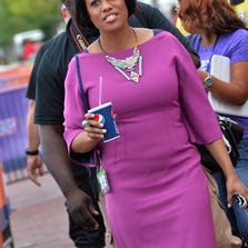 BALTIMORE, MD - SEPTEMBER 05:  Baltimore, Mayor Stephanie Rawlings-Blake onstage during the NFL Kickoff 2013 Presented By Pepsi at Baltimore Inner Harbor on September 5, 2013 in Baltimore, Maryland.