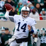 Quarterback Christian Hackenberg is one of five former Penn State players invited to the NFL Scouting Combine.