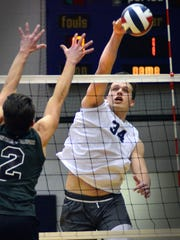 Dallastown's Ben Ward slams past Central Dauphin's