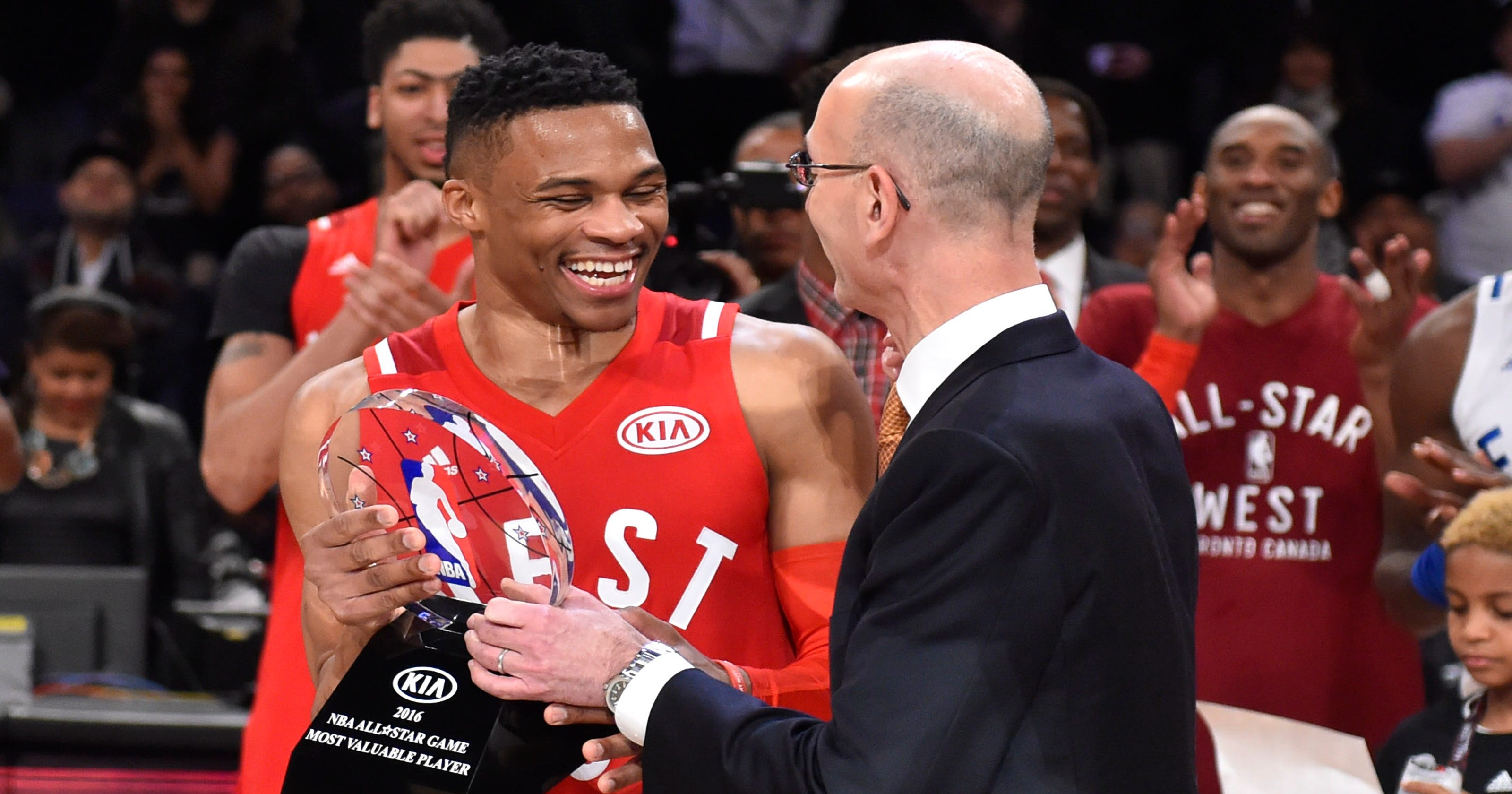 6327024e7ac Russell Westbrook took All-Star Game seriously, won second straight MVP