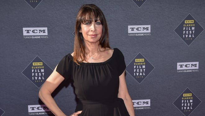 Actress and writer Illeana Douglas, shown here in April 2018, went on the record with the New Yorker about being allegedly sexually harassment and blacklisted by CBS chief Leslie Moonves.