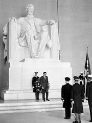 In this Feb. 12, 1969, file photo U.S. President Richard
