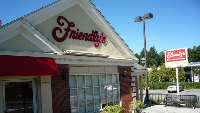 A Friendly's restaurant in Yorktown that was closed on Sept. 12, 2014.