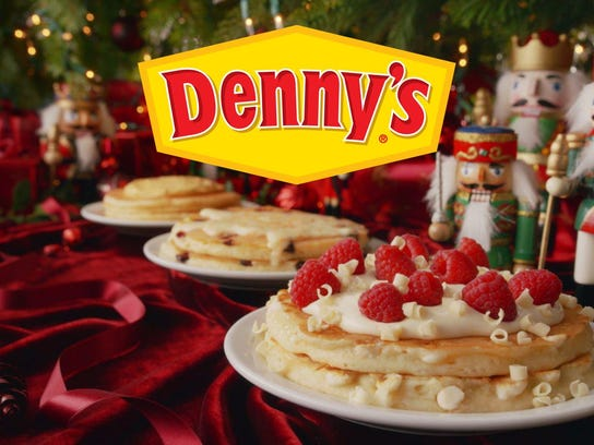 Dennys Open Christmas Day