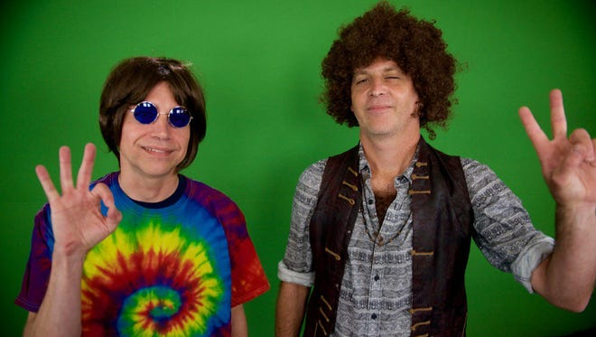 'Dad Rock' hosts Jim Lenahan and Patrick Foster, time traveling back to the '60s.