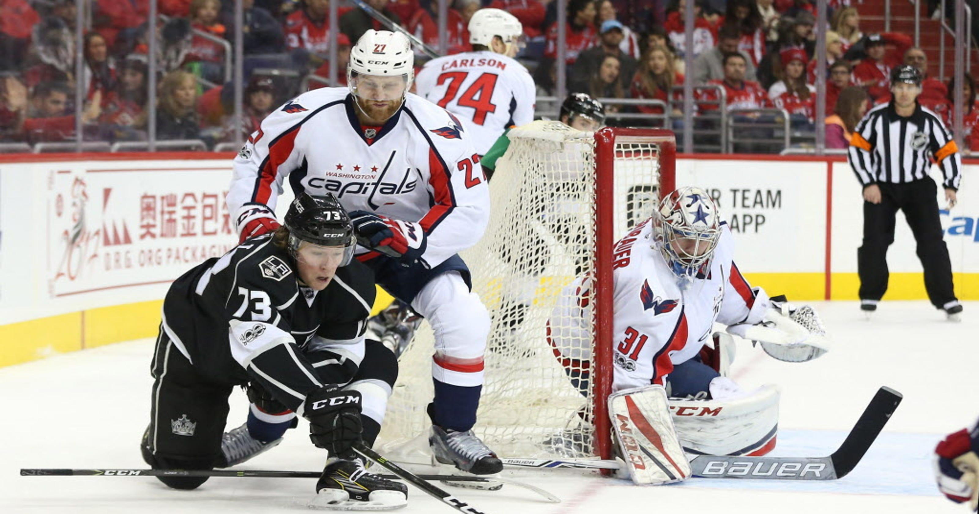 Capitals goalie Philipp Grubauer shuts out Kings d2bab558f153