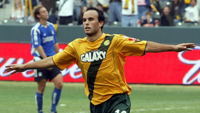 Landon Donovan and the L.A. Galaxy won MLS Cup in 2005.