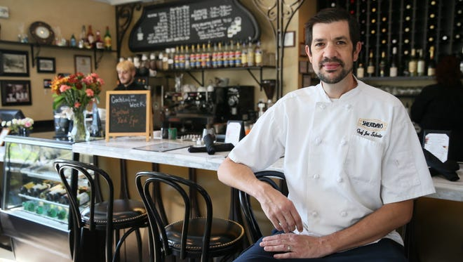 Joe Schreiter, chef at Sheridan's in Cudahy, is devising the menu of Mistral, a Mediterranean restaurant that will open in the Avalon Theater in Bay View, as well as a new menu for the movie theater.