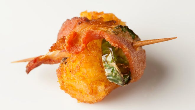 Spicy Bacon Tater Tot