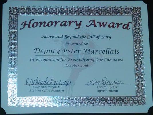 Deputy Pete Marcellais