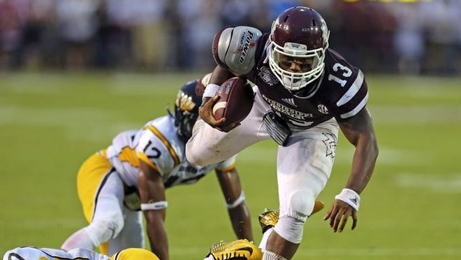 Mississippi State running back Josh Robinson wasn't satisfied with his performance against Southern Miss.