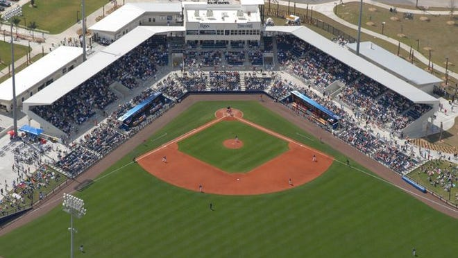 Charlotte Sports Park, the spring training home of the Tampa Bay Rays, was voted the best spring training facility in 10Best's Readers' Choice contest.