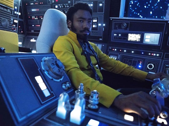 """Donald Glover is Lando Calrissian in """"Solo: A Star Wars Story."""""""