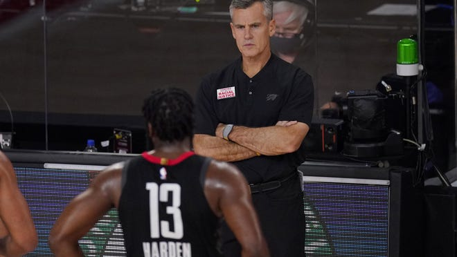 Billy Donovan, the one-time Providence College star who has coached the Oklahoma City Thunder for the last five years, won't return next year, it was announced on Tuesday night.