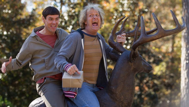 "Jim Carrey and Jeff Daniels return this week for ""Dumb and Dumber To."""