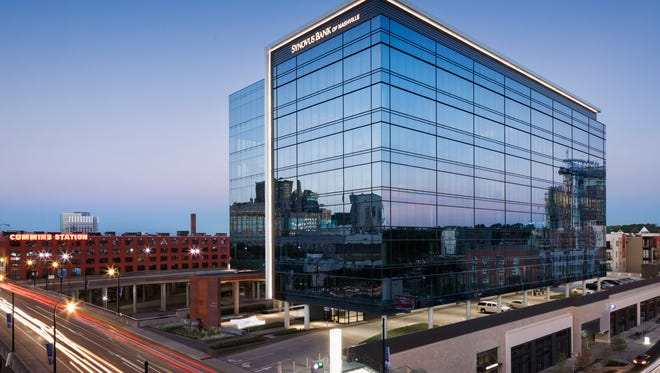 Forrester has temporary offices at the Industrious Nashville coworking space inside the Gulch Crossing office building on Demonbreun Street.  The company has narrowed its search for  permanent offices  to  three downtown Nashville area locations.