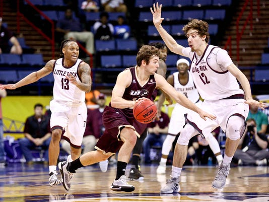 NCAA Basketball: Sun Belt Conference Tournament-Louisiana Monroe vs Arkansas Little Rock