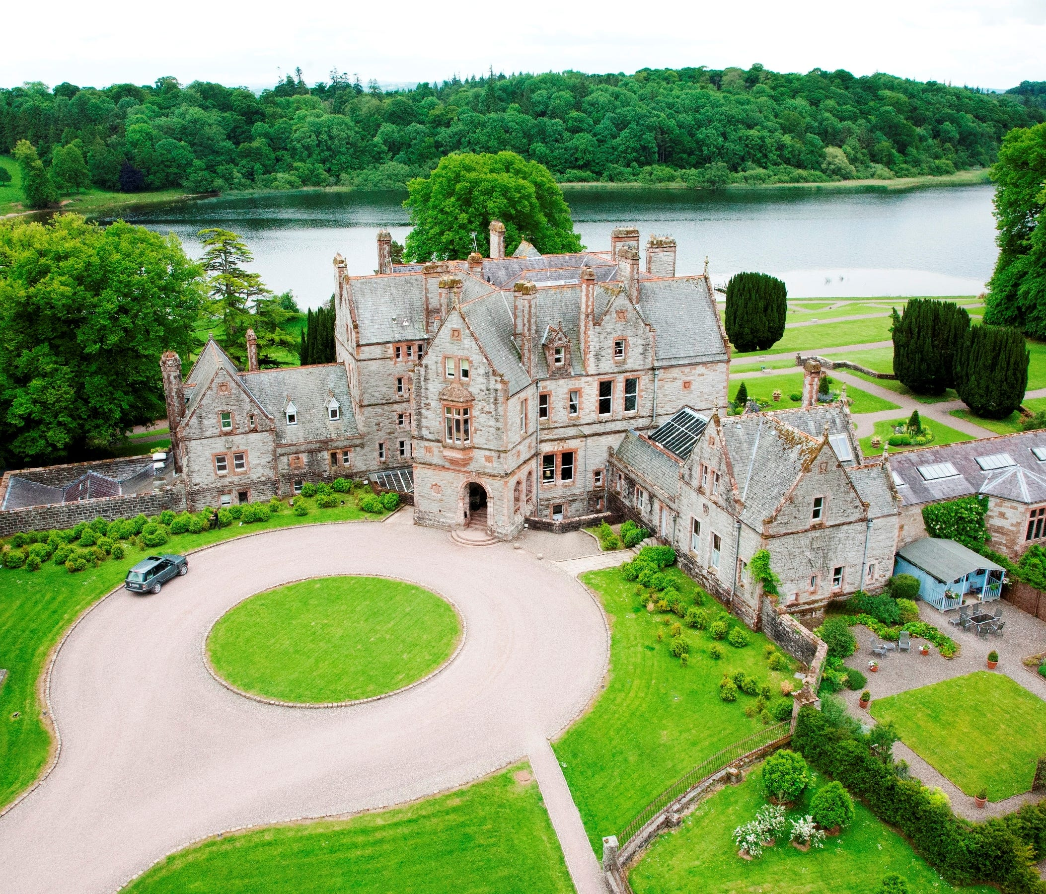 Castle Leslie, Glaslough, Co. Monaghan: The Leslie family have farmed the castle estate since the 1660s.