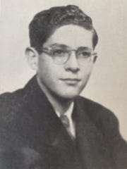 Frederic Pryor's senior photo. He graduated from Mansfield