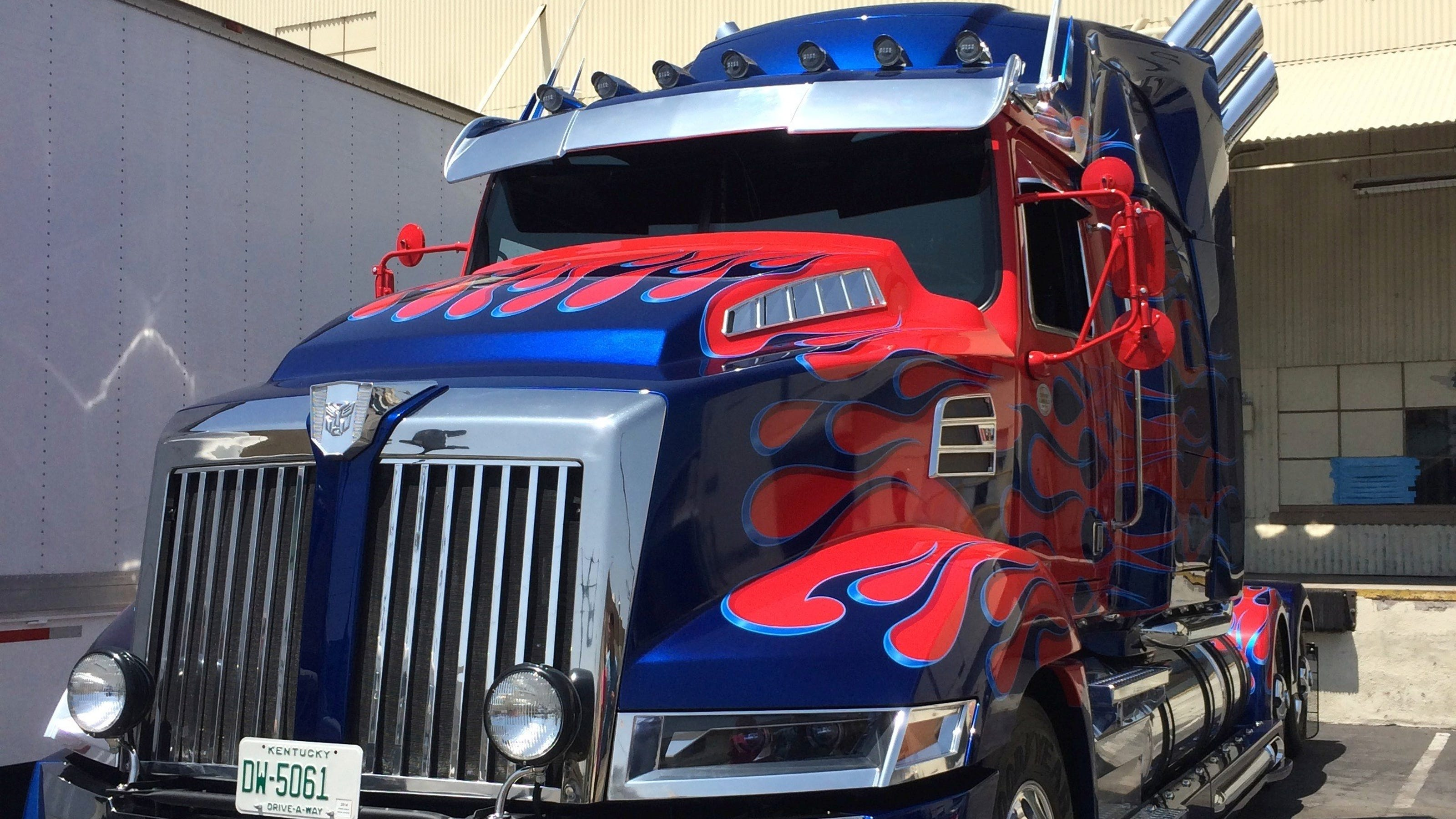 exclusive: transformed optimus prime rolls out