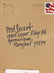 All PostSecret postcards come directly to founder Frank